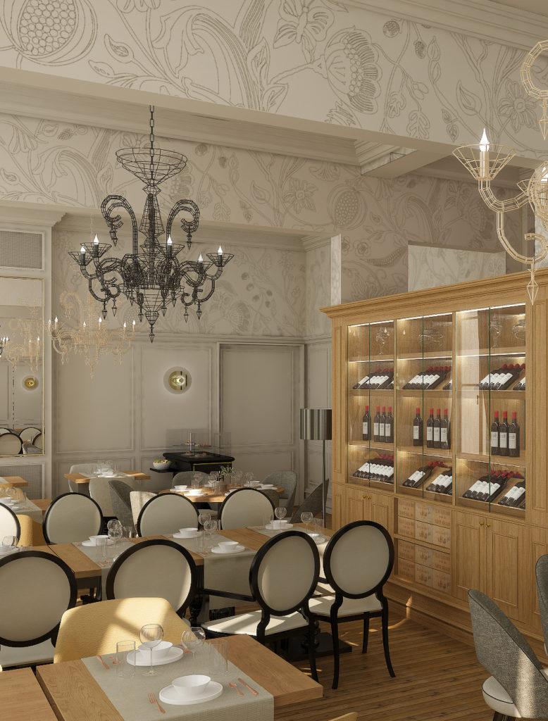 Architecte d'intérieur pour hôtels, retail design